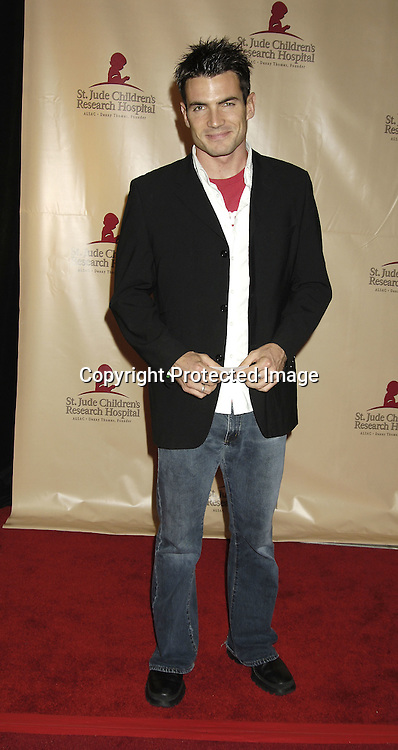 Aiden Turner of All My children ..at the 11th Annual Daytime Television Salutes St. Jude Children's Research Hospital benefit hosted by Martha Byrne on October 14, 2005 at The New York Marriott Marquis Hotel. ..Photo by Robin Platzer, Twin Images