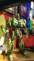 Transformer im Ripley's believe it or not in Manhatten - 11.04.2018: Sightseeing in New York