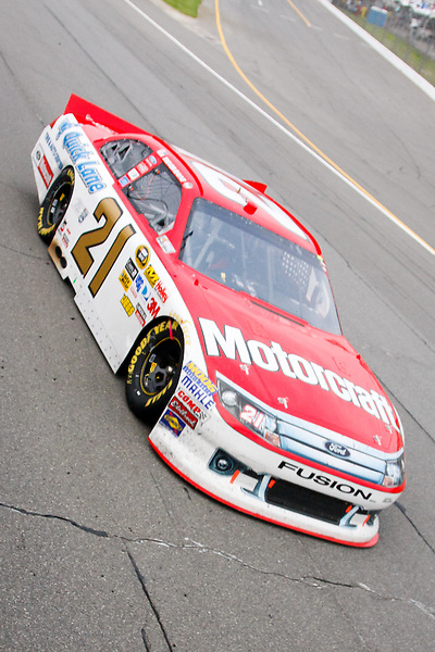 19 June, 2011: Trevor Bayne during the 43rd Annual Heluva Good! Sour Cream Dips 400 at Michigan International Speedway in Brooklyn, Michigan.