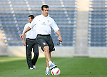 08 September 2007: Brazil head coach Dunga. The Brazil Men's National Team practiced at Toyota Park in Bridgeview, Illinois.