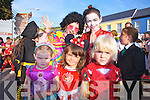 Taking part in the Childrens Fancy Dress' at the Cahersiveen festival on Friday were front l-r; Ciara Clifford, Lilly O'Brien, Zack O'Driscoll, back l-r; Natalie O'Connor & Kelsey McCarthy.