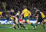 Luke Romano. All Blacks beat Australia 22-0. Eden Park, Auckland. 25 August 2012. Photo: Marc Weakley