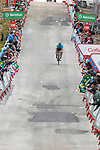 Miguel Angel Lopez Moreno (COL) Astana Pro Team approaches the finish line to win solo Stage 11 of the 2017 La Vuelta, running 187.5km from Lorca to Observatorio Astron&oacute;mico de Calar Alto, Spain. 30th August 2017.<br /> Picture: Unipublic/&copy;photogomezsport | Cyclefile<br /> <br /> <br /> All photos usage must carry mandatory copyright credit (&copy; Cyclefile | Unipublic/&copy;photogomezsport)