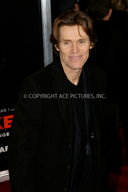 WWW.ACEPIXS.COM . . . . .  ....January 7 2010, New York City....Actor Willem Dafoe at the premiere of the Lionsgate film 'Daybreakers' at the SVA Theater on January 7, 2010 in New York City.....Please byline: NANCY RIVERA- ACEPIXS.COM.... *** ***..Ace Pictures, Inc:  ..Tel: 646 769 0430..e-mail: info@acepixs.com..web: http://www.acepixs.com