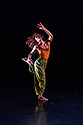 """London, UK. 23.11.2017. Gianluca Vincentini curates a Sadler's Wells """"Wild Card"""" show, in the Lilian Baylis Studio. For this Wild Card, Vincentini shows some of the most promising dance makers based in the North of England and introduces London to his company, Mobius Dance. This piece is: An extract from """"The Calm"""", choreographed by Jamaal Burkmar. Picture shows: Kassichana Jameson.  Photograph © Jane Hobson."""