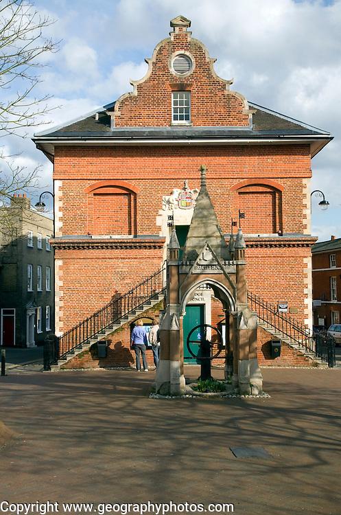 The Shire Hall built 1575 by Thomas Seckford, Market Hill, Woodbridge, Suffolk