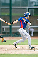 Drew Robinson - AZL Rangers - 2010 Arizona League. .Photo by:  Bill Mitchell/Four Seam Images..