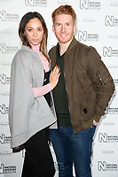 Katya &amp; Neil Jones arriving for the Natural History Museum Ice Rink launch party 2017, London, UK. <br /> 25 October  2017<br /> Picture: Steve Vas/Featureflash/SilverHub 0208 004 5359 sales@silverhubmedia.com