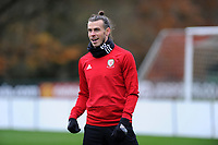 Gareth Bale of Wales during the Wales Training Session at The Vale Resort, Hensol, Wales, UK. Monday 19 November 2018