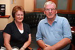 Ray and Rose McEvoy enjoying a night out in Grennans...Photo NEWSFILE/Jenny Matthews.(Photo credit should read Jenny Matthews/NEWSFILE)....This Picture has been sent you under the condtions enclosed by:.Newsfile Ltd..The Studio,.Millmount Abbey,.Drogheda,.Co Meath..Ireland..Tel: +353(0)41-9871240.Fax: +353(0)41-9871260.GSM: +353(0)86-2500958.email: pictures@newsfile.ie.www.newsfile.ie.FTP: 193.120.102.198.