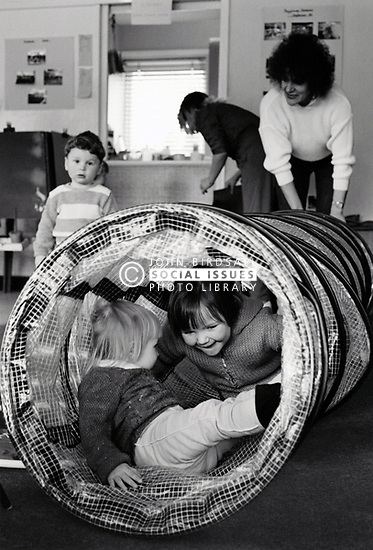 Crabtree play centre, Nottingham UK 1985