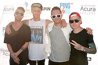 Chase Johnson, Nick Gross, Evan Smith, Alex Asch<br /> at Clayton Kershaw's Ping Pong 4 Purpose Celebrity Tournament to Benefit Kershaw's Challenge, Dodger Stadium, Los Angeles, CA 08-11-16<br /> David Edwards/MediaPunch