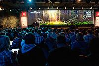 Berlin, Teilnehmer sitzen am Dienstag (06.05.2014) bei der Internetkonfenenz Re:publica. Foto: Steffi Loos/CommonLens