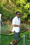 NFL Player Dhani Jones Attends Russell Simmons' 12th Annual Art for Life East Hampton Benefit, NY  7/30/11