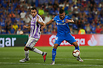 Getafe CF's Sergi Guardiola during La Liga match. August 31, 2018. (ALTERPHOTOS/A. Perez Meca)
