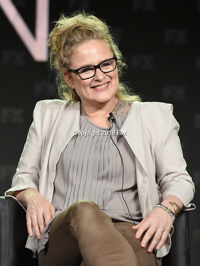 PASADENA, CA - FEBRUARY 4: Co-EP/Key Creative Consultant Nicole Fosse during the FOSSE / VERDON panel for the 2019 FX Networks Television Critics Association Winter Press Tour at The Langham Huntington Hotel on February 4, 2019 in Pasadena, California. (Photo by Frank Micelotta/FX/PictureGroup)