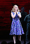 "Katie Rose Clarke during The Opening Night Curtain Call Bows for the New Broadway Production of ""Miss Saigon"" at the Broadway Theatre on March 23, 2017 in New York City"