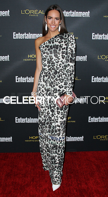 WEST HOLLYWOOD, CA, USA - AUGUST 23: Louise Roe arrives at the 2014 Entertainment Weekly Pre-Emmy Party held at the Fig & Olive on August 23, 2014 in West Hollywood, California, United States. (Photo by Xavier Collin/Celebrity Monitor)