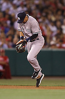 05/29/12 Anaheim, CA: New York Yankees shortstop Derek Jeter #2 during an MLB game played between the New York Yankees and the Los Angeles Angels at Angel Stadium. The Angels defeated the Yankees 5-1.