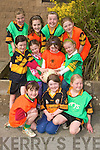 GIRLS WANT TO HAVE FUN: Taking part in the Austin Stacks Easter Football Camp held in CBS The Green on Tuesday were front l-r: Rachel Ryan, Emma Reidy and Dakotah Carter. Middle l-r: Kate Crowley, Ciara Nix, KirbyAnne Ryan and Sarah Hobbert. Back l-r: Meabh McElligott, Meabh McKivergan, Rebecca Ryan and Lauren Barrett.