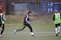 05.02.2013: Training der U17-Nationalmannschaft