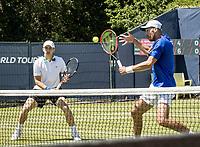 Den Bosch, Netherlands, 13 June, 2017, Tennis, Ricoh Open, Men's doubles: Tallon Griekspoor (NED) / David Pel (NED) (R)<br /> Photo: Henk Koster/tennisimages.com