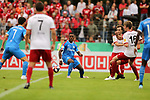 11.08.2019, Salmtalstadion, Salmrohr, GER, DFB-Pokal, 1. Runde FSV Salmrohr vs Holsteinm Kiel<br /> <br /> DFB REGULATIONS PROHIBIT ANY USE OF PHOTOGRAPHS AS IMAGE SEQUENCES AND/OR QUASI-VIDEO.<br /> <br /> im Bild / picture shows<br /> <br /> Makana BAKU (Holstein Kiel, #17, blau)<br /> <br /> Foto © nordphoto / Schwarz