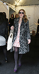 """Michelle Trachtenberg """"Lily"""" All My Children, Gossip Girl, Buffy The Vampire Slayer attends Rebecca Taylor Fashion Show on February 14, 2010 at Mercedes-Benz Fashion Week - Fall 210 Collections in Bryant Park, NY."""