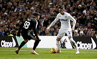 Leeds United's Pablo Hernandez under pressure from Reading's Liam Kelly<br /> <br /> Photographer Rich Linley/CameraSport<br /> <br /> The EFL Sky Bet Championship - Leeds United v Reading - Tuesday 27th November 2018 - Elland Road - Leeds<br /> <br /> World Copyright &copy; 2018 CameraSport. All rights reserved. 43 Linden Ave. Countesthorpe. Leicester. England. LE8 5PG - Tel: +44 (0) 116 277 4147 - admin@camerasport.com - www.camerasport.com