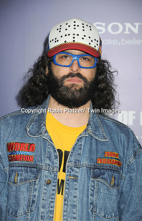 "Judah Friedlander attends the New York Premiere of ""The Ides of March"" ..on October 5, 2011 at The Ziegfeld Theatre in New York City. The movie stars George Clooney, Marisa Tomei, Evan Rachel Wood, Paul Giamatti, Phillip Seymour Hoffman and Jeffrey Wright."