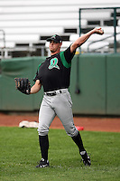 June 13th 2008:  Pitcher Jeremy Horst of the Dayton Dragons, Class-A affiliate of the Cincinnati Reds, during a game at Stanley Coveleski Regional Stadium in South Bend, IN.  Photo by:  Mike Janes/Four Seam Images