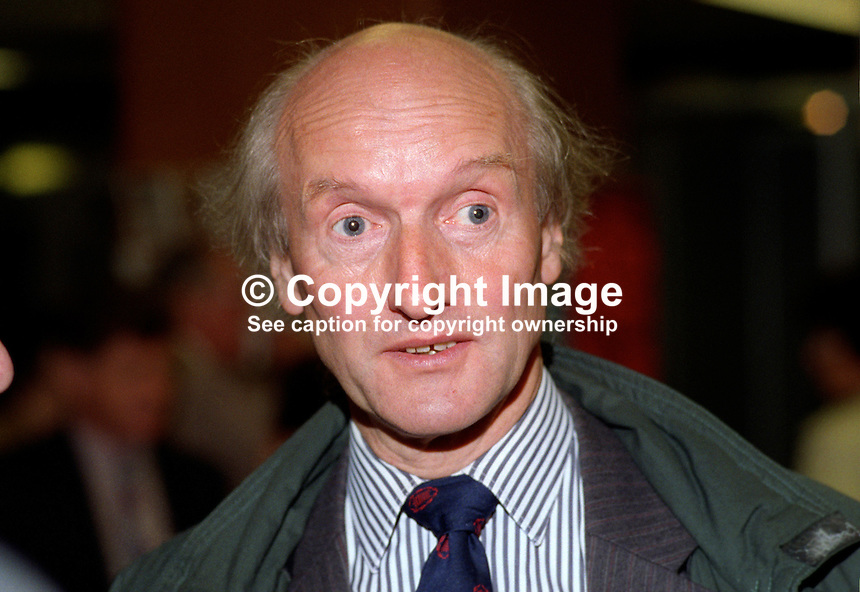 Donald Anderson, MP, Swansea East, Labour Party, UK, 199309341..Copyright Image from Victor Patterson, 54 Dorchester Park, Belfast, United Kingdom, UK...For my Terms and Conditions of Use go to http://www.victorpatterson.com/Victor_Patterson/Terms_%26_Conditions.html