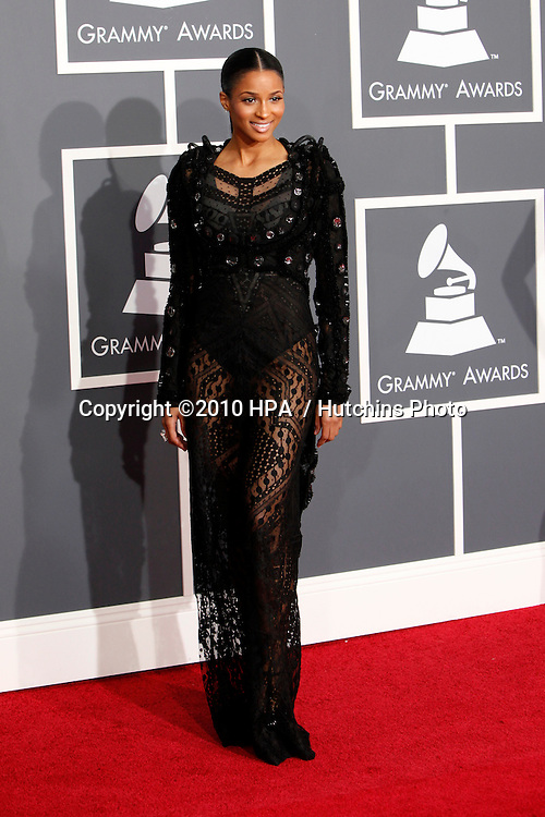 Ciara.arriving at the 2010 Grammy's.Staples Center.Los Angeles, CA.January 31, 2010.©2010 HPA / Hutchins Photo....