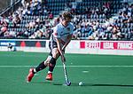 AMSTELVEEN -Jan-Willem Buissant (Adam)   tijdens  de hoofdklasse competitiewedstrijd hockey heren,  Amsterdam-SCHC (3-1).  COPYRIGHT KOEN SUYK