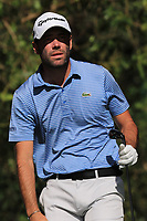 Robin Roussel (FRA) on the 7th tee during Round 1 of the Challenge Tour Grand Final 2019 at Club de Golf Alcanada, Port d'Alcúdia, Mallorca, Spain on Thursday 7th November 2019.<br /> Picture:  Thos Caffrey / Golffile<br /> <br /> All photo usage must carry mandatory copyright credit (© Golffile | Thos Caffrey)