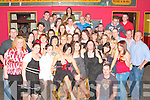 Sharon Enright, from Dromlought, Lisselton seated front celebrated her 21st birthday in Christy's Well Bar Listowel with family and friends on Saturday night   Copyright Kerry's Eye 2008