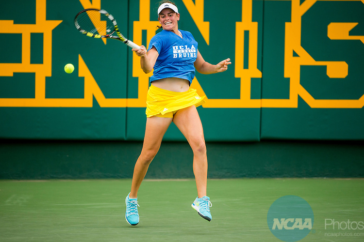 19 MAY 2015:  The Division I Women's Tennis Championship is held at the Hurd Tennis Center on the Baylor University campus in Waco, TX.  Vanderbilt defeated UCLA 4-1 to win the team national title.  Darren Carroll/NCAA Photos