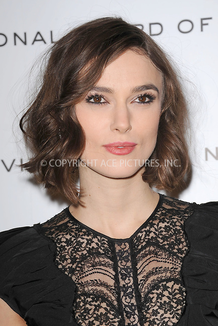 WWW.ACEPIXS.COM . . . . . .January 10, 2012, New York City....Keira Knightley attends the 2011 National Board of Review Awards gala at Cipriani 42nd Street on January 10, 2012 in New York City. ....Please byline: KRISTIN CALLAHAN - ACEPIXS.COM.. . . . . . ..Ace Pictures, Inc: ..tel: (212) 243 8787 or (646) 769 0430..e-mail: info@acepixs.com..web: http://www.acepixs.com .