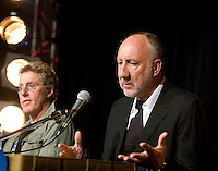 The Who press conference for the 2009 Australian Grand Prix
