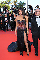 "CANNES, FRANCE. May 16, 2019: Priyanka Chopra  at the gala premiere for ""Rocketman"" at the Festival de Cannes.<br /> Picture: Paul Smith / Featureflash"