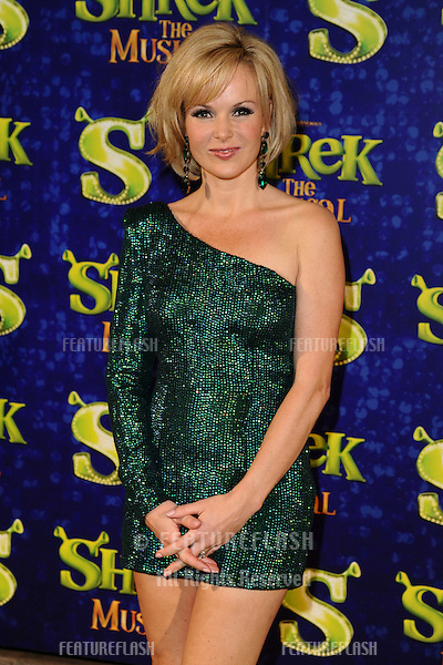 "Amanda Holden arrives for the 1st night party of ""Shrek The Musical"" at Somerset House, London. 14/06/2011  Picture by: Steve Vas / Featureflash"
