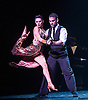London, UK. 29.02.2016. German Cornejo's 'Immortal Tango' opens at the Peacock Theatre, Sadlers Wells. Dancers are: German Cornejo, Gisela Galeassi, Jose Fernandez, Martina Waldman, Max Van De Voorde, Solange Acosta, Mariano Balois, Sabrina Amuchastegui, Leonard Luizaga, Mauro Caiazza, Tere Sanchez Terraf, Julio Seffino, Carla Dominguez. Photo - © Foteini Christofilopoulou.