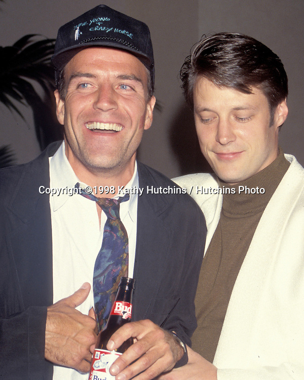 "Richard Burgi, .Matthew Ashford.""Days Of Our Lives"" Weekend.1990. CA.©2006 Kathy Hutchins / Hutchins Photo...."