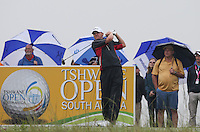 Michael Hoey (NIR) gets underway the Final Round of The Tshwane Open 2014 at the Els (Copperleaf) Golf Club, City of Tshwane, Pretoria, South Africa. Picture:  David Lloyd / www.golffile.ie