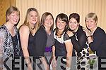 Staff members from Kilcolman Creche enjoying a Christmas night out in The Devon Inn, Templeglantine last Friday night. L-r: Grainne Fitzgibbon, Ciaristy O'Shaughnassy, May Lyons, Maria Hayes, Kathleen Buckley and Mary Reddin.
