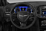 Car pictures of steering wheel view of a 2018 Chrysler 300 S 4 Door Sedan