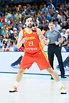 Sergio Llull during Spain vs Dominican Republic friendly match in Madrid. August 22, 2019. (ALTERPHOTOS/Francis González)