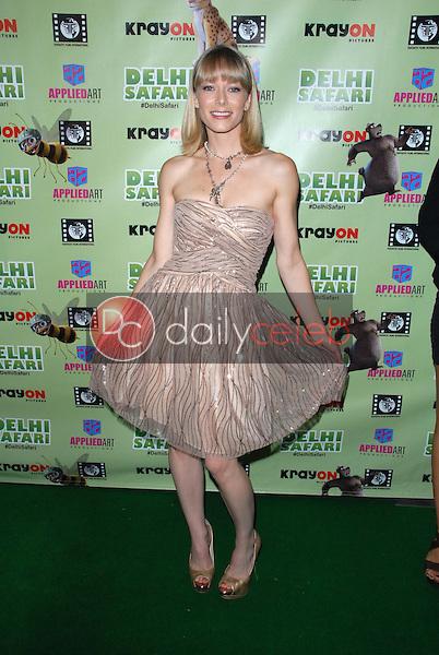 """Stephanie Drapeau<br /> at the """"Delhi Safari"""" North American Premiere, Pacific Theaters, Los Angeles, CA 12-03-12<br /> David Edwards/DailyCeleb.com 818-249-4998"""