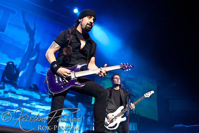 Volbeat performs at Mohegan Sun Arena September 28 2014
