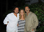 All My Children's Thorsten Kaye and Walt Willey and One Life To Live Susan Haskell at SoapFest's Celebrity Weekend -  A Night of Stars - a VIP event with dinner, autographs, photos, silent and live auction on November 10, 2012 at Bistro Soleil at Old Historic Marco Inn (Photo by Sue Coflin/Max Photos)